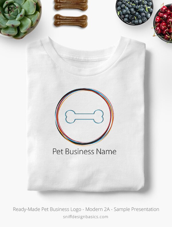 Ready-Made-Pet-Business-Logo-Showcae-T-Shirt-Modern-2A