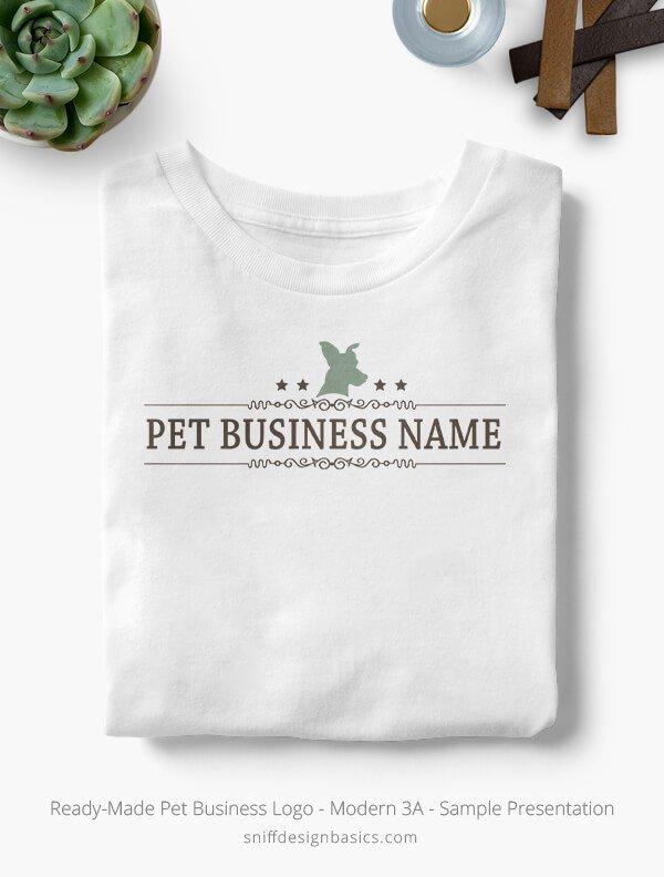 Ready-Made-Pet-Business-Logo-Showcae-T-Shirt-Modern-3A