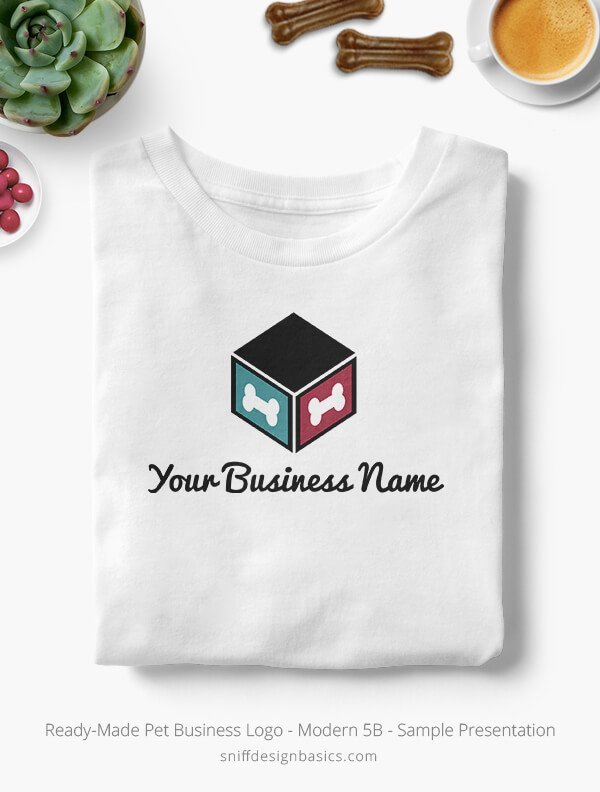 Ready-Made-Pet-Business-Logo-Showcae-T-Shirt-Modern-5B