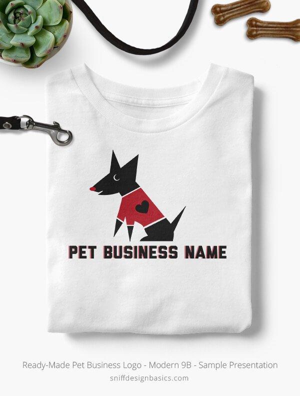 Ready-Made-Pet-Business-Logo-Showcae-T-Shirt-Modern-9B