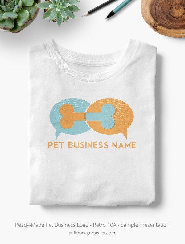 Ready-Made-Pet-Business-Logo-Showcae-T-Shirt-Retro10A