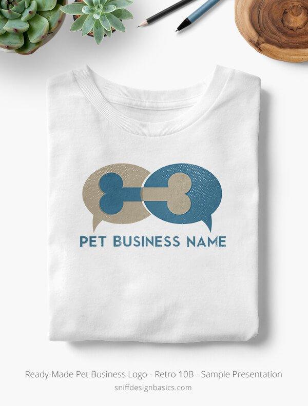 Ready-Made-Pet-Business-Logo-Showcae-T-Shirt-Retro10B
