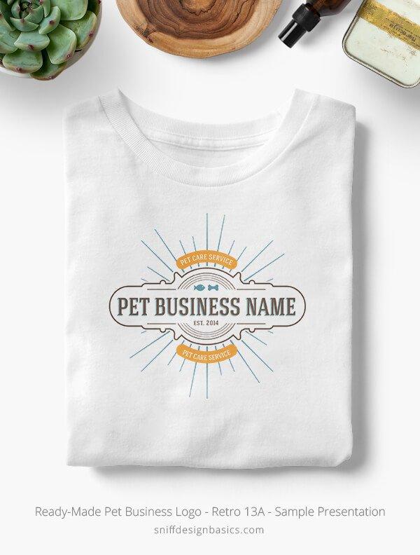 Ready-Made-Pet-Business-Logo-Showcae-T-Shirt-Retro13A