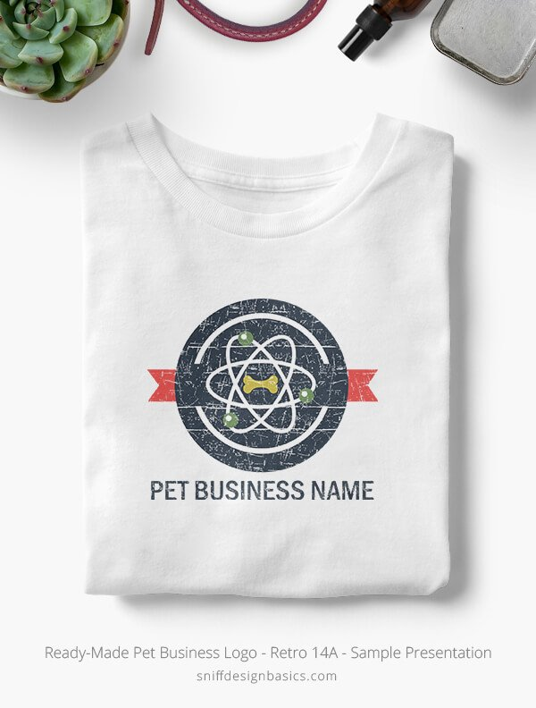 Ready-Made-Pet-Business-Logo-Showcae-T-Shirt-Retro14A