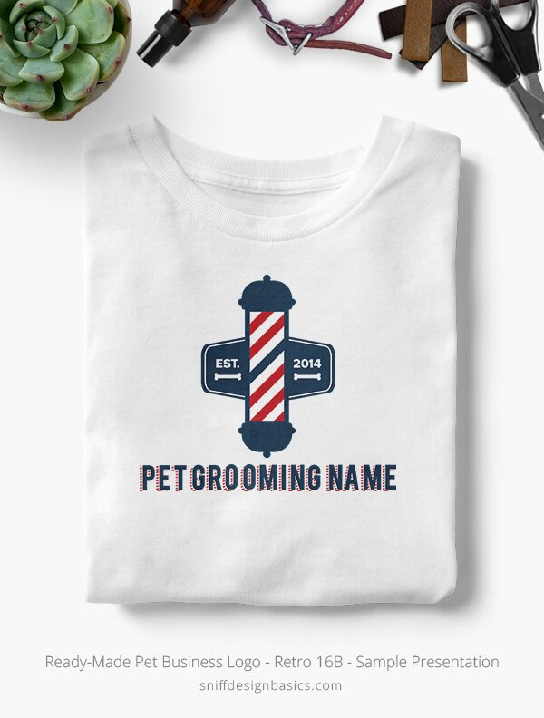 Ready-Made-Pet-Business-Logo-Showcae-T-Shirt-Retro16B