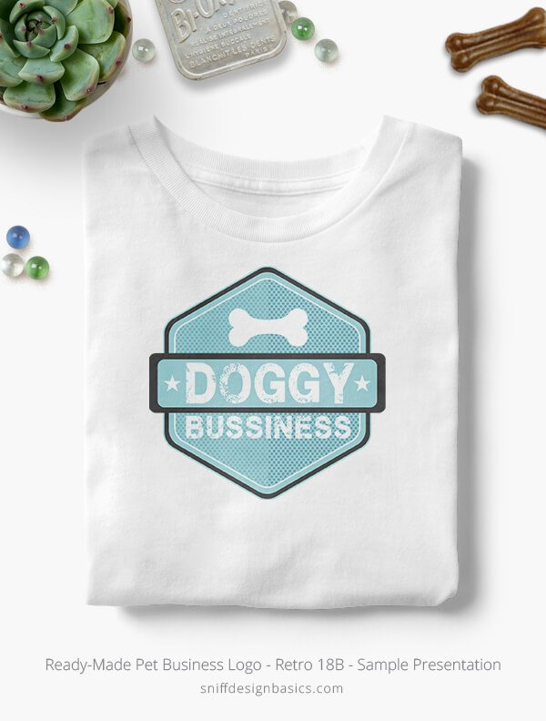 Ready-Made-Pet-Business-Logo-Showcae-T-Shirt-Retro18B