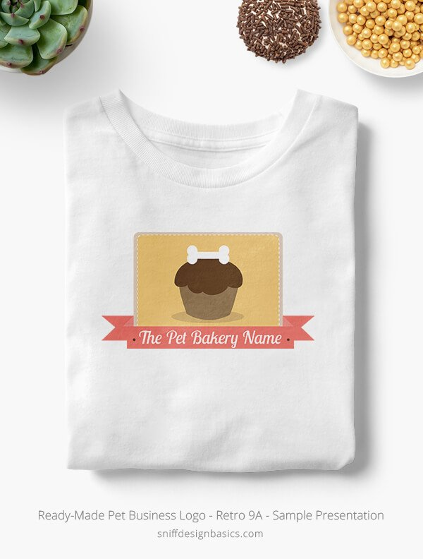 Ready-Made-Pet-Business-Logo-Showcae-T-Shirt-Retro9A