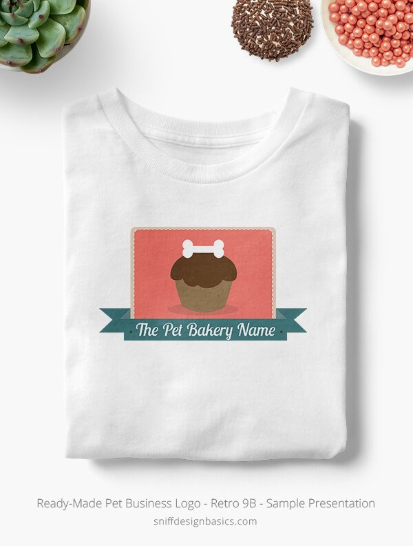 Ready-Made-Pet-Business-Logo-Showcae-T-Shirt-Retro9B