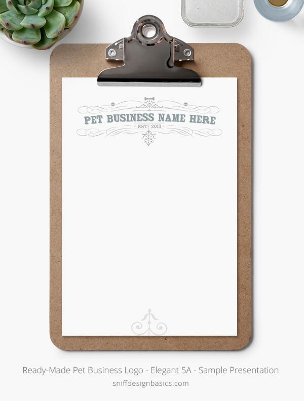 Ready-Made-Pet-Business-Logo-Showcase-Stationery-Set-Elegant-5A