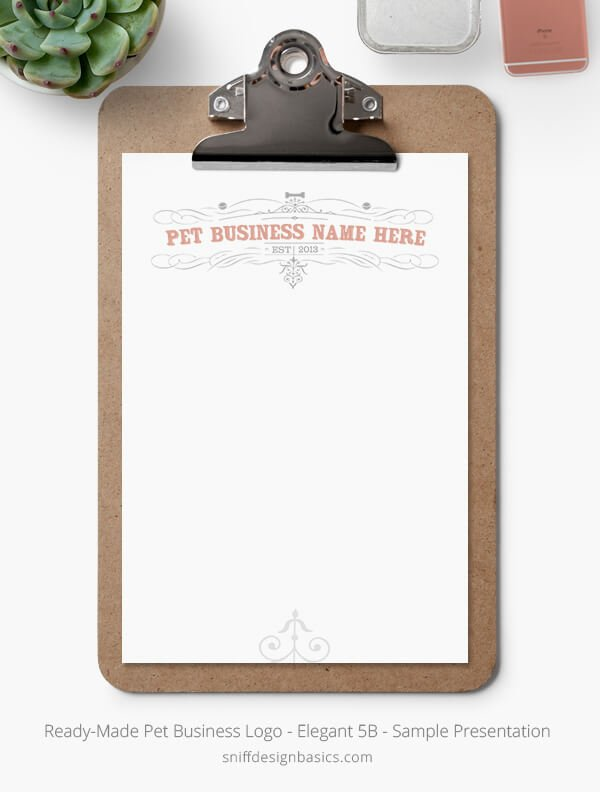 Ready-Made-Pet-Business-Logo-Showcase-Stationery-Set-Elegant-5B