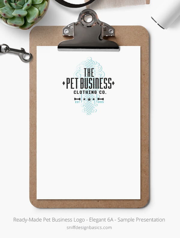 Ready-Made-Pet-Business-Logo-Showcase-Stationery-Set-Elegant-6A