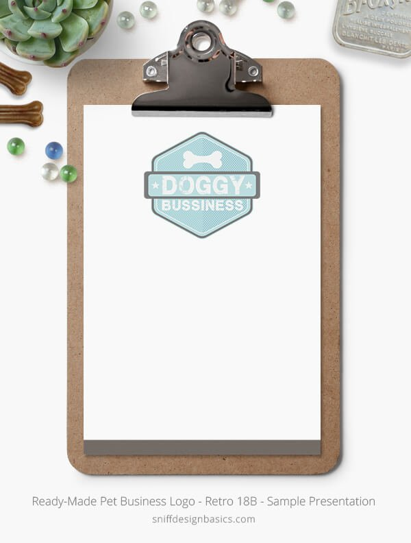 Ready-Made-Pet-Business-Logo-Showcase-Stationery-Set-Retro18B