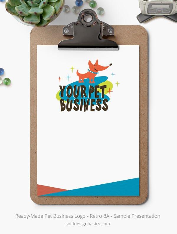 Ready-Made-Pet-Business-Logo-Showcase-StationerySet-Retro8A