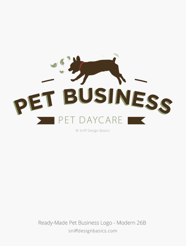 Ready-Made-Pet-Business-Logo-Modern-Design-26B