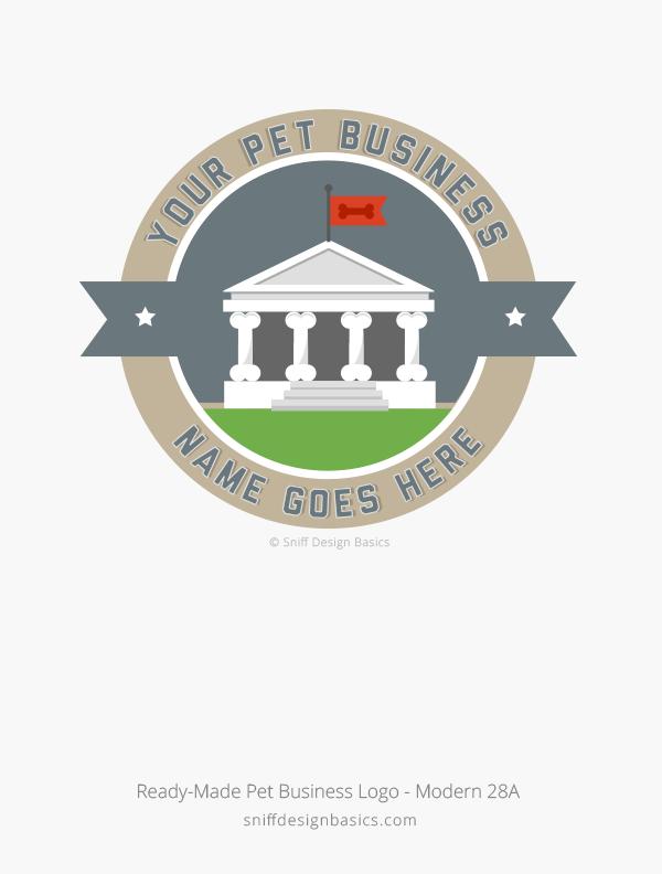 Ready-Made-Pet-Business-Logo-Modern-Design-28A