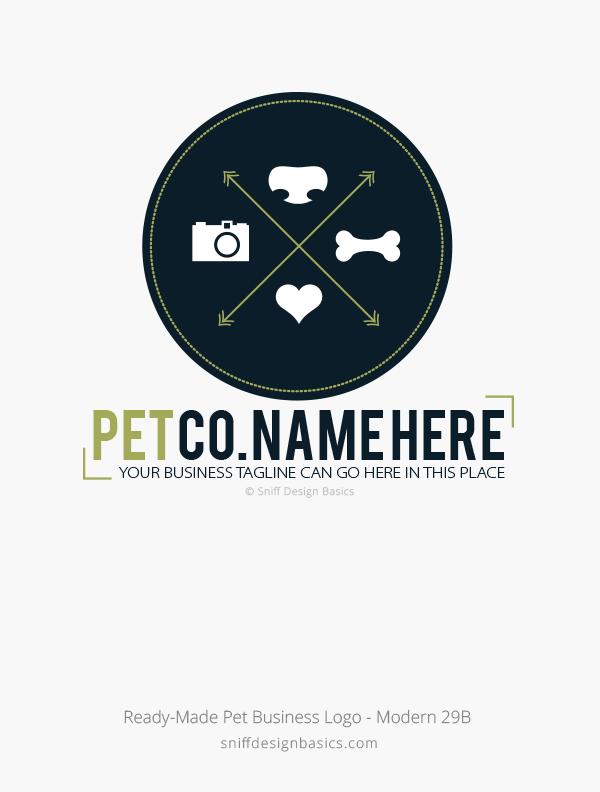 Ready-Made-Pet-Business-Logo-Modern-Design-29B