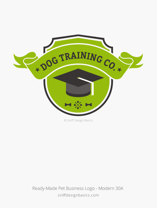 Dog Training Logo Design