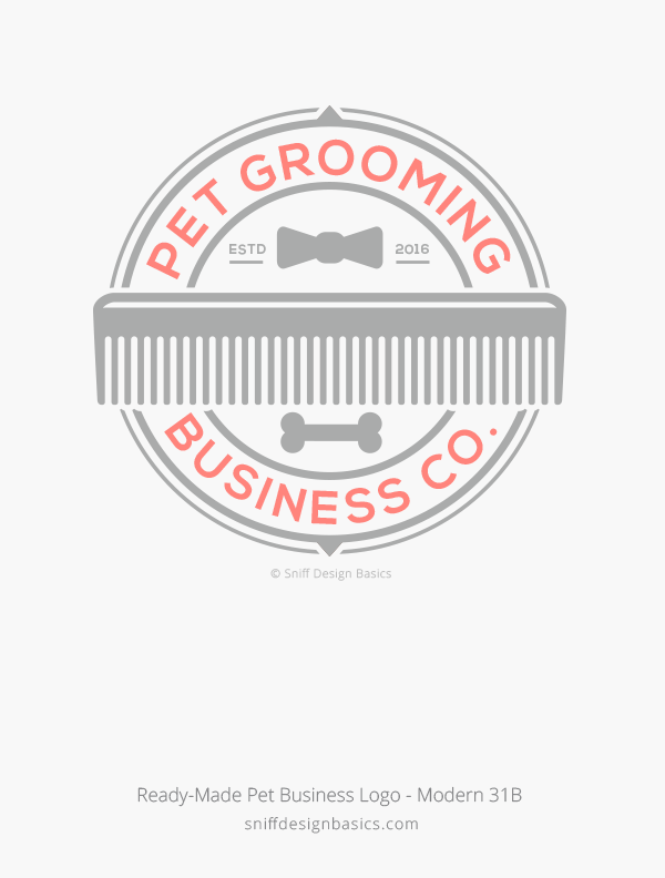 Ready-Made-Pet-Business-Logo-Modern-Design-31B