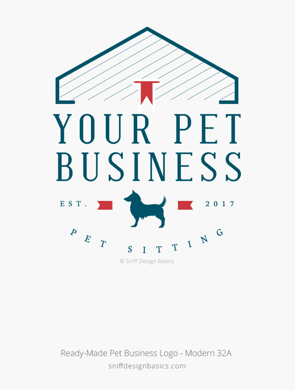 Ready-Made-Pet-Business-Logo-Modern-Design-32A