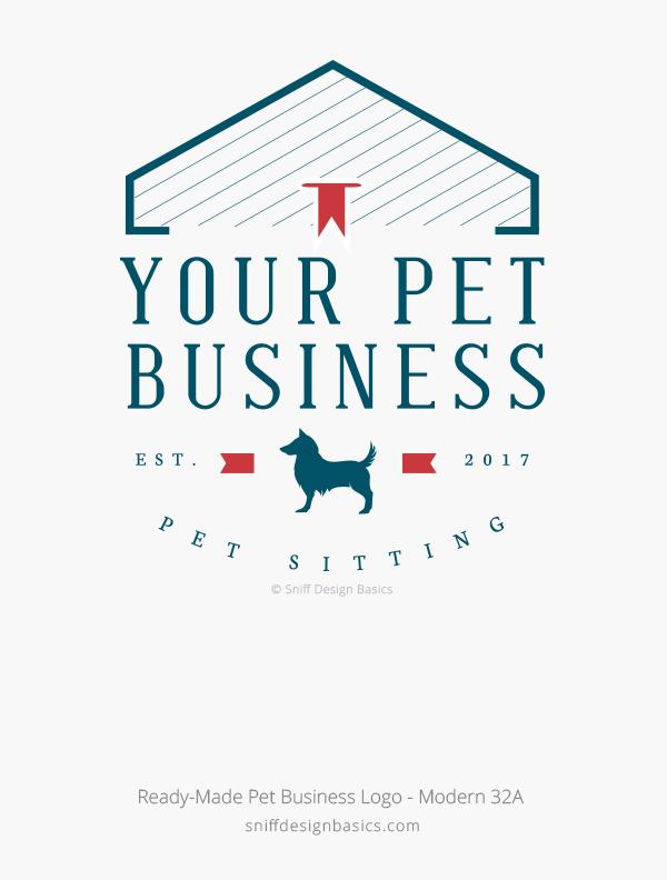 Ready-Made-Pet-Business-Logo-Modern-Design-32A