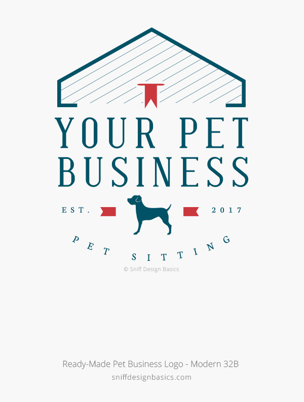 Ready-Made-Pet-Business-Logo-Modern-Design-32B
