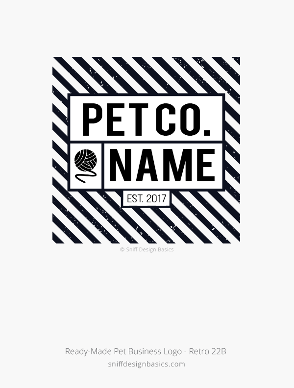 Ready-Made-Pet-Business-Logo-Retro-Design-22B