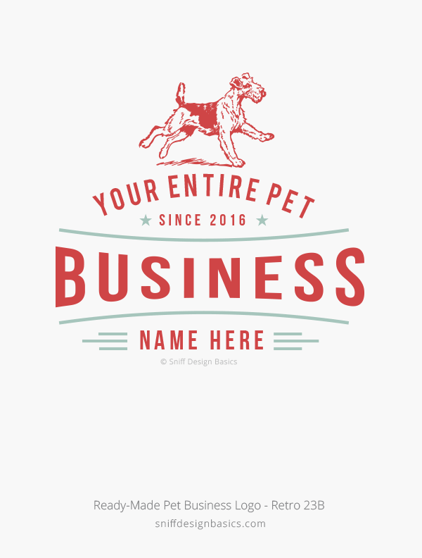 Ready-Made-Pet-Business-Logo-Retro-Design-23B