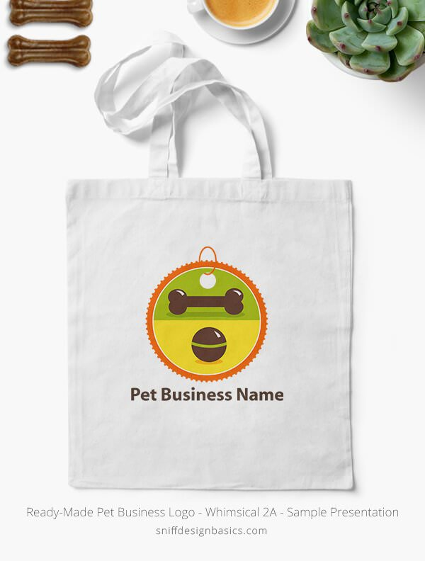 Ready-Made-Pet-Business-Logo-Showcae-Canvas-Bag-Whimsical-2A