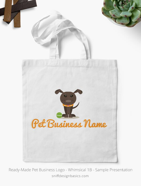 Ready-Made-Pet-Business-Logo-Showcae-Canvas-Bags-Whimsical-1B