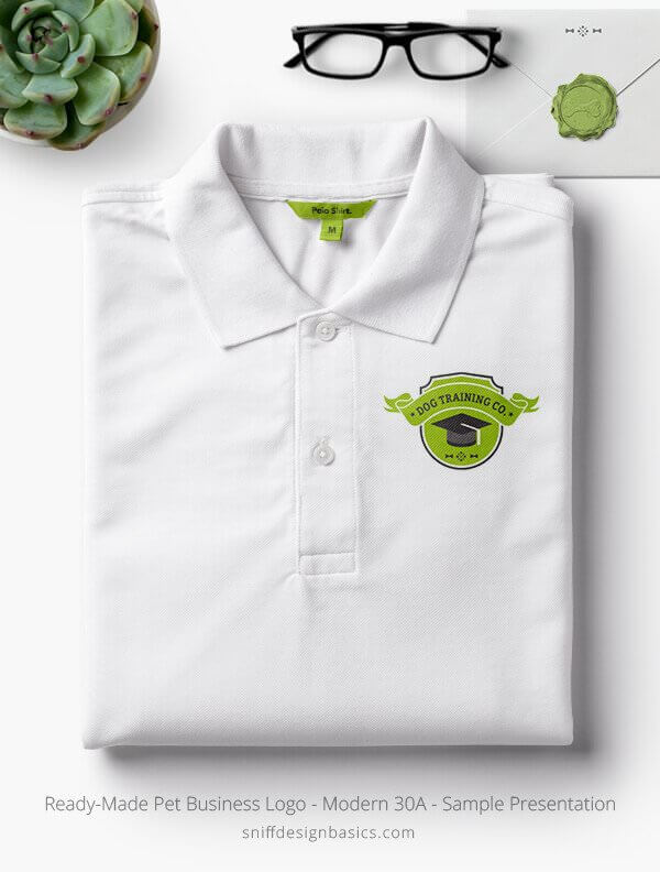 Ready-Made-Pet-Business-Logo-Showcae-Polo-Shirt-Modern-30A