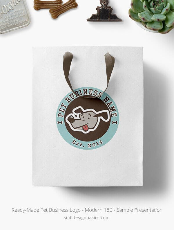 Ready-Made-Pet-Business-Logo-Showcae-Retail-Bag-Modern-18B