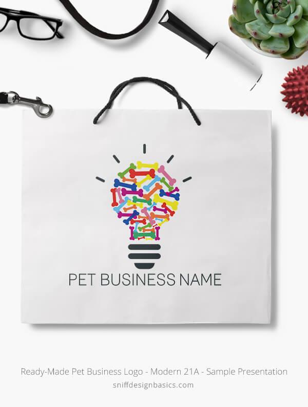 Ready-Made-Pet-Business-Logo-Showcae-Retail-Bag-Modern-21A