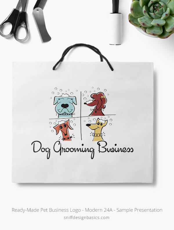 Ready-Made-Pet-Business-Logo-Showcae-Retail-Bag-Modern-24A