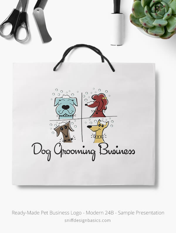 Ready-Made-Pet-Business-Logo-Showcae-Retail-Bag-Modern-24B