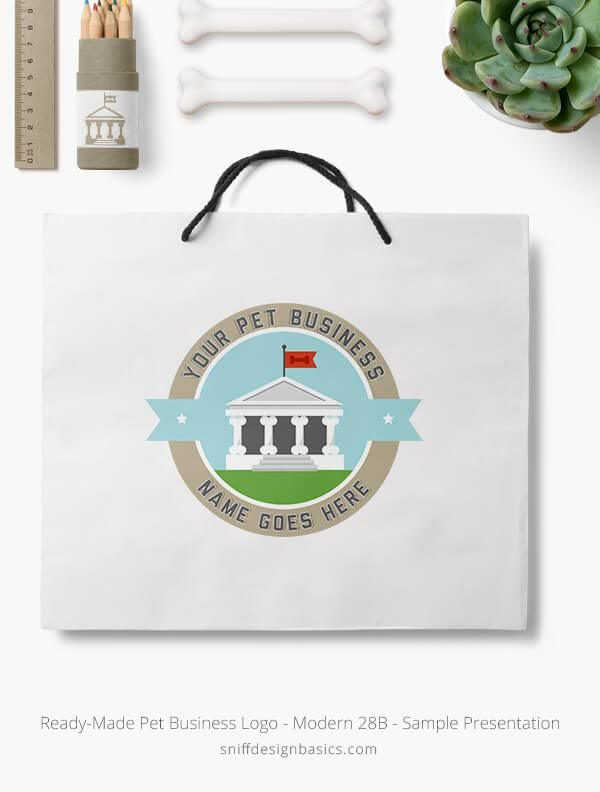 Ready-Made-Pet-Business-Logo-Showcae-Retail-Bag-Modern-28B