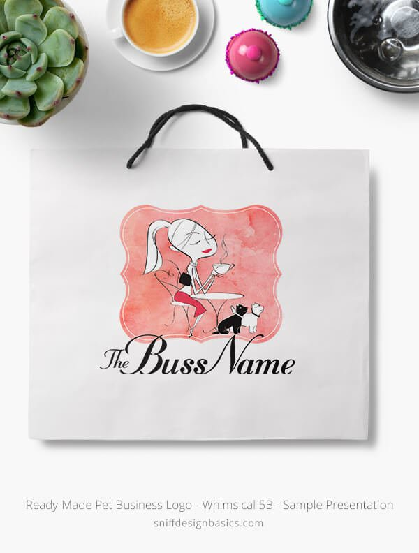 Ready-Made-Pet-Business-Logo-Showcae-Retail-Bag-Whimsical-5B
