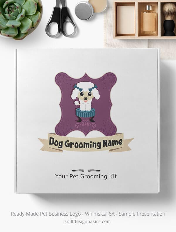 Ready-Made-Pet-Business-Logo-Showcae-Retail-Box-Whimsical-6B