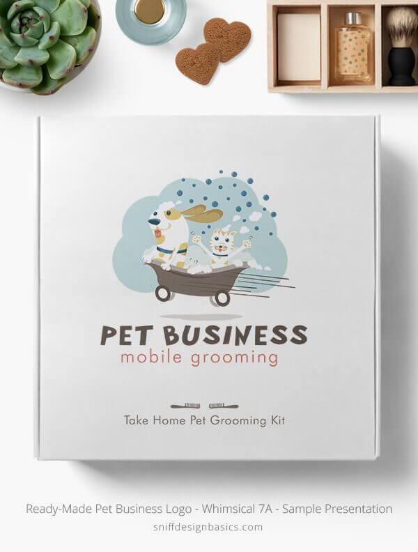 Ready-Made-Pet-Business-Logo-Showcae-Retail-Box-Whimsical-7A