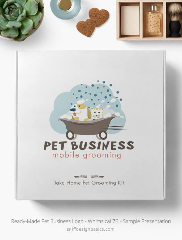 Ready-Made-Pet-Business-Logo-Showcae-Retail-Box-Whimsical-7B