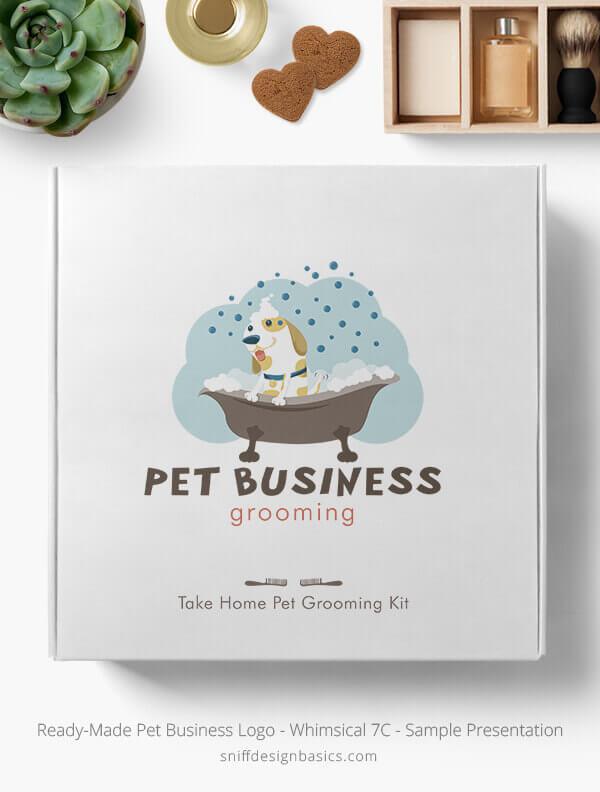 Ready-Made-Pet-Business-Logo-Showcae-Retail-Box-Whimsical-7C