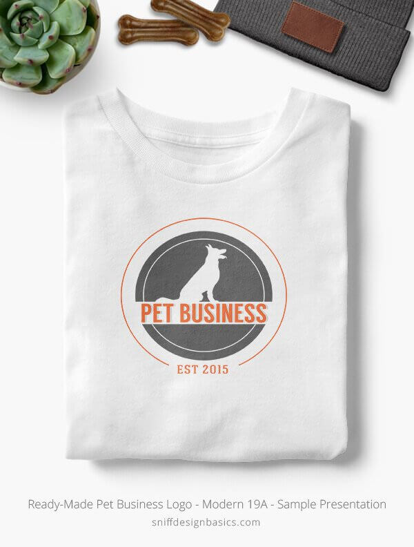 Ready-Made-Pet-Business-Logo-Showcae-T-Shirt-Modern-19A
