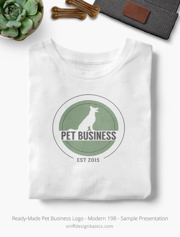 Ready-Made-Pet-Business-Logo-Showcae-T-Shirt-Modern-19B