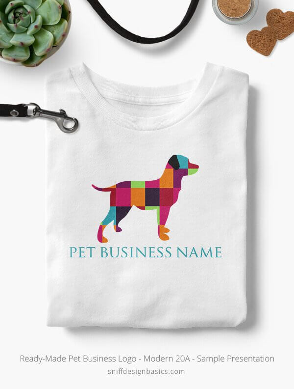 Ready-Made-Pet-Business-Logo-Showcae-T-Shirt-Modern-20A