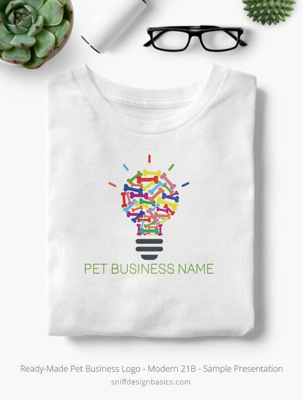 Ready-Made-Pet-Business-Logo-Showcae-T-Shirt-Modern-21B