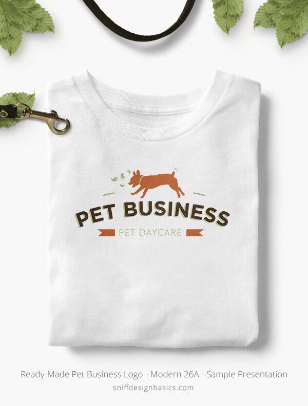 Ready-Made-Pet-Business-Logo-Showcae-T-Shirt-Modern-26A