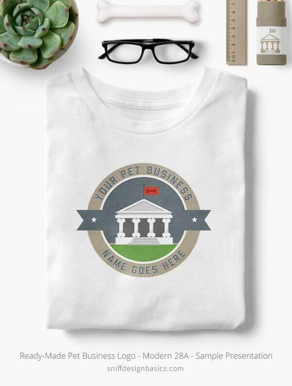 Ready-Made-Pet-Business-Logo-Showcae-T-Shirt-Modern-28A