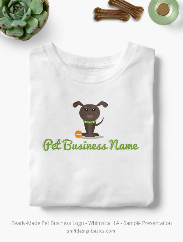 Ready-Made-Pet-Business-Logo-Showcae-T-Shirt-Whimsical-1A