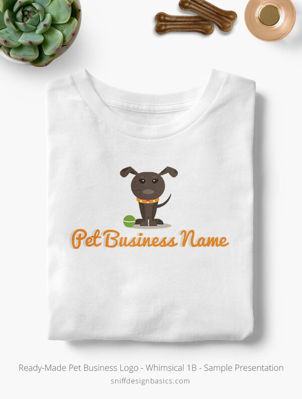 Ready-Made-Pet-Business-Logo-Showcae-T-Shirt-Whimsical-1B