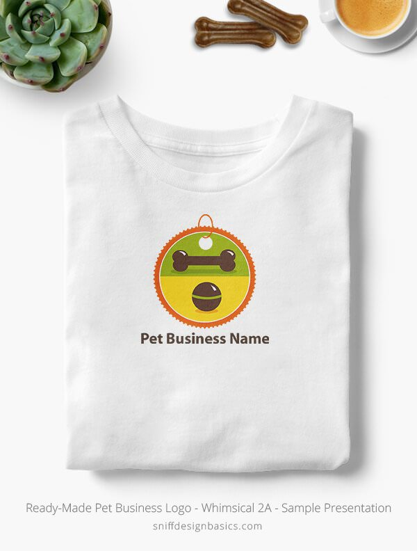 Ready-Made-Pet-Business-Logo-Showcae-T-Shirt-Whimsical-2A