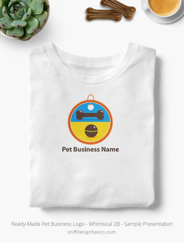 Ready-Made-Pet-Business-Logo-Showcae-T-Shirt-Whimsical-2B